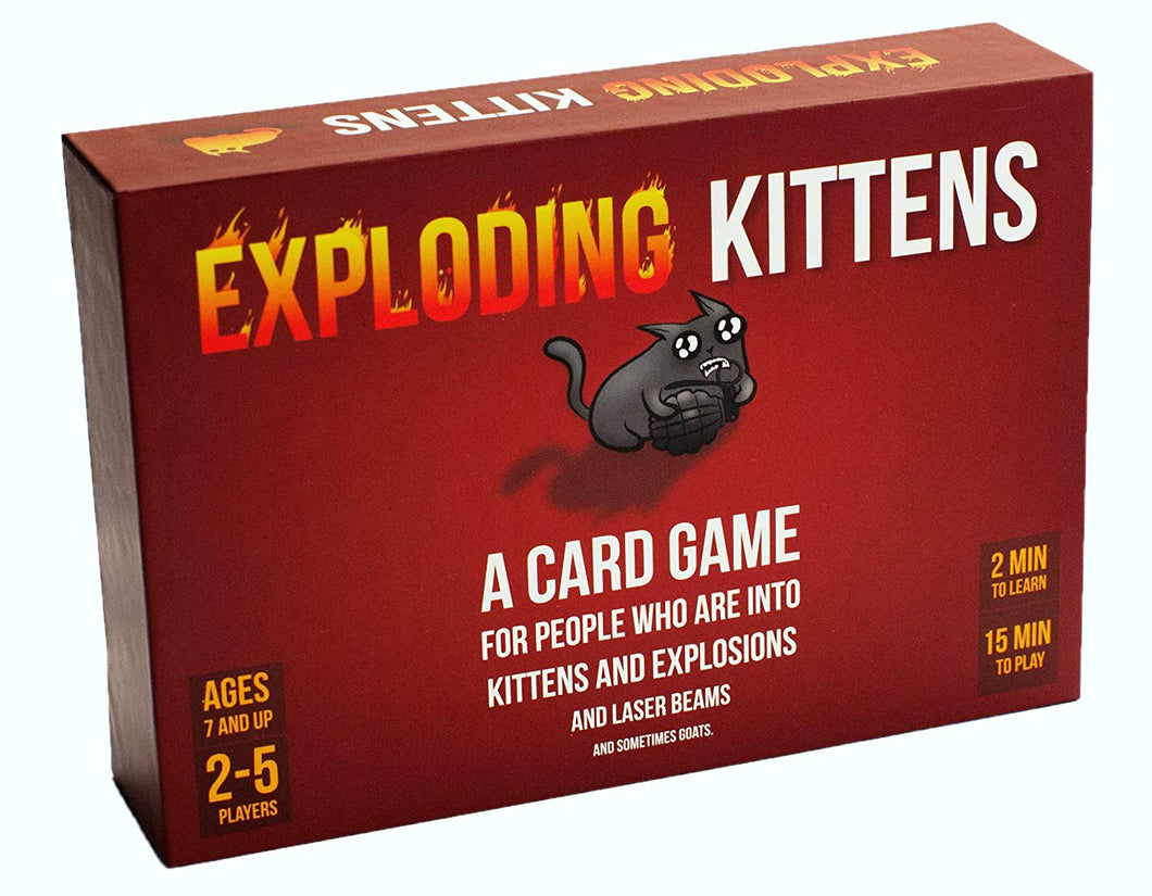 Board Game | Exploding Kittens (Original Edition) | Game Night Gear