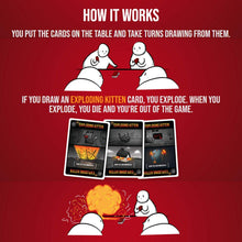 Load image into Gallery viewer, Board Game | Exploding Kittens (Original Edition) | Game Night Gear