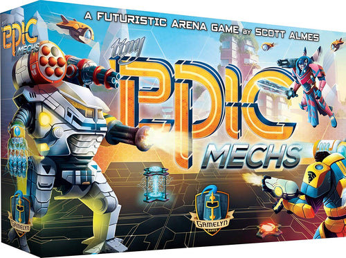 Board Game | Tiny Epic Mechs | Game Night Gear