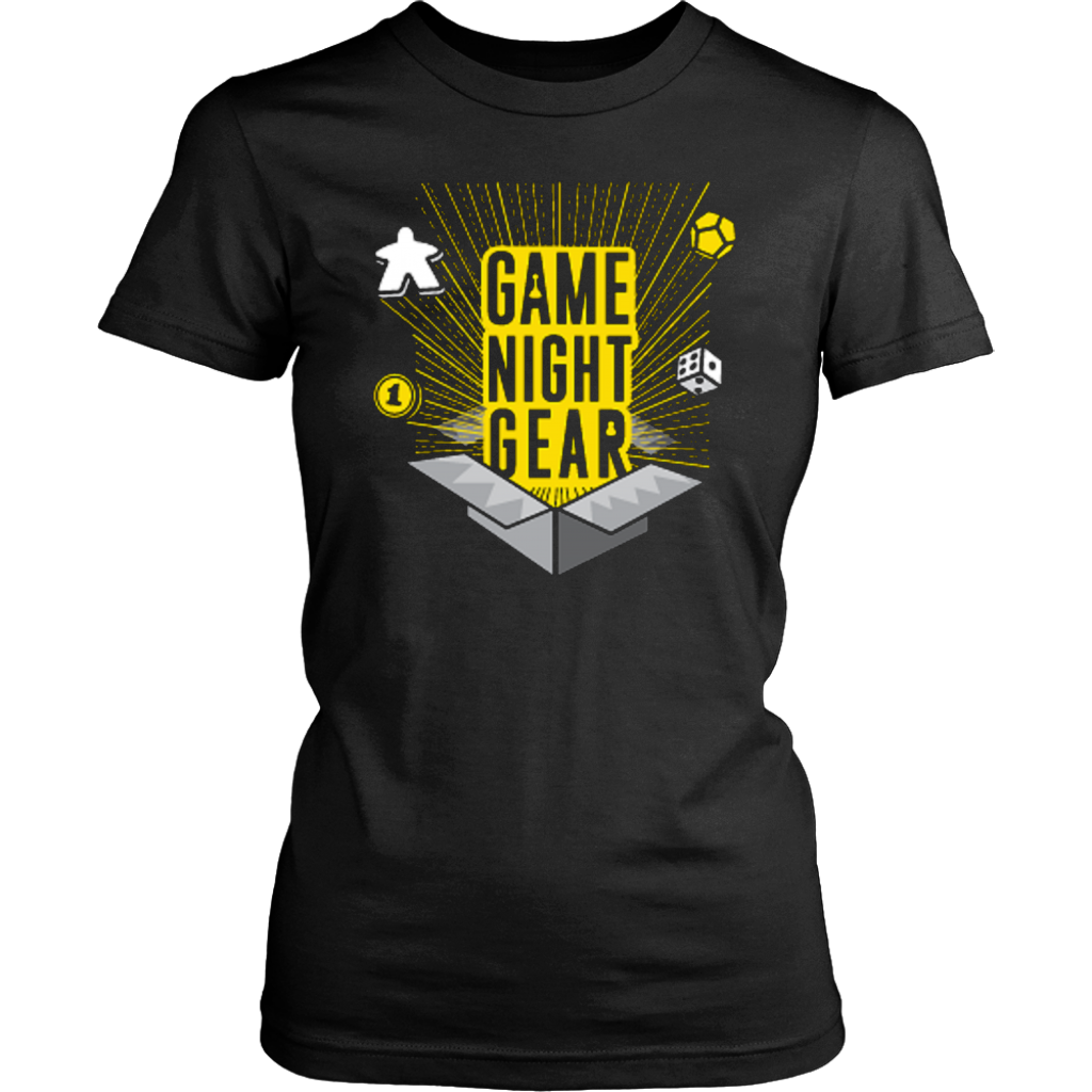 Women's Game Night Gear Tee