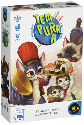 Board Game | Tem-Purr-A | Game Night Gear