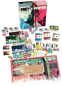 Board Game | Pret-a-Porter (Third Edition) | Game Night Gear