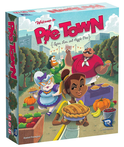 Board Game | Pie Town | Game Night Gear