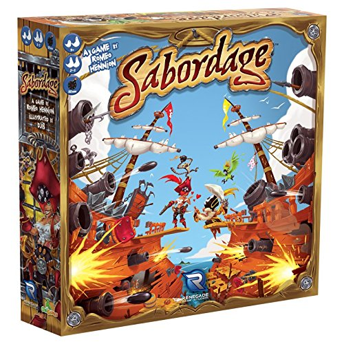 Board Game | Sabordage | Game Night Gear