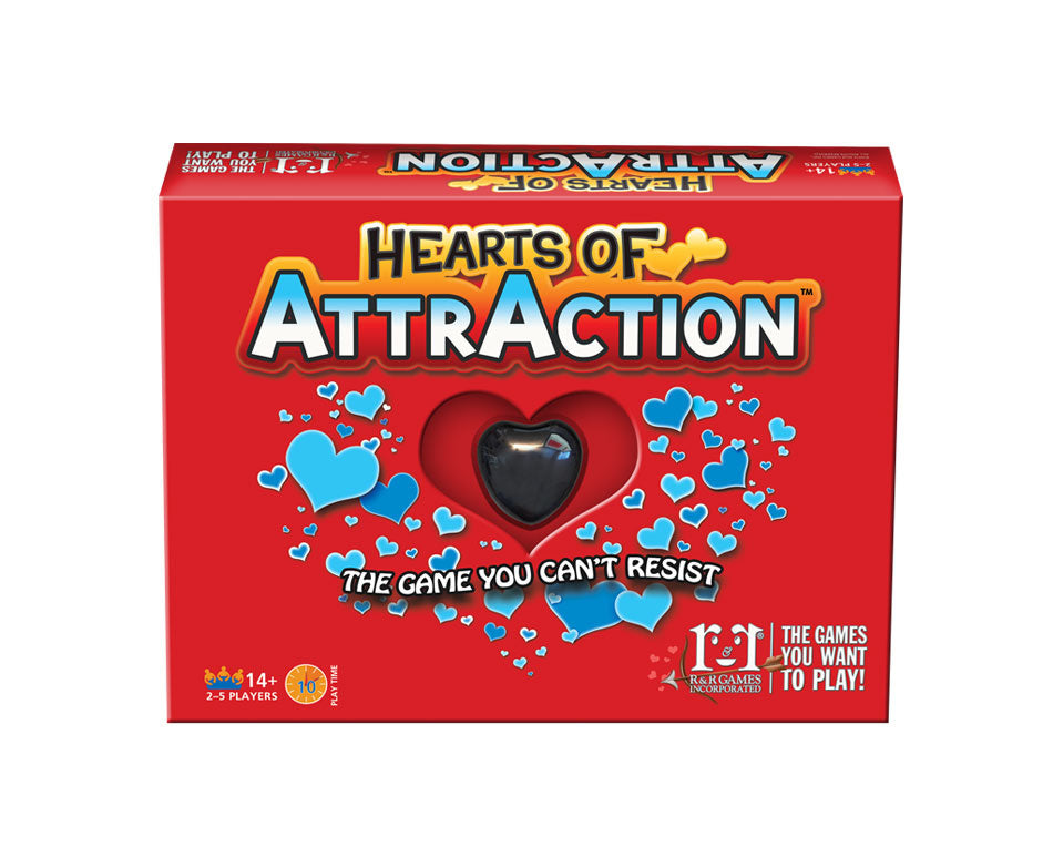 Board Game | Hearts of AttrAction | Game Night Gear