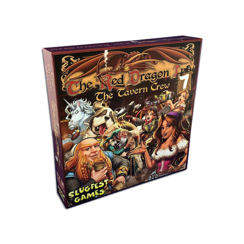Board Game | Red Dragon Inn 7: The Tavern Crew | Game Night Gear