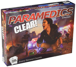 Board Game | Paramedics: Clear! | Game Night Gear