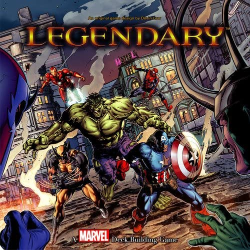 Board Game | Legendary: A Marvel Deck Building Game | Game Night Gear