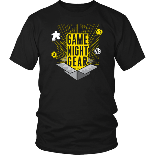 T-shirt Unisex Game Night Gear Tee - Game Night Gear