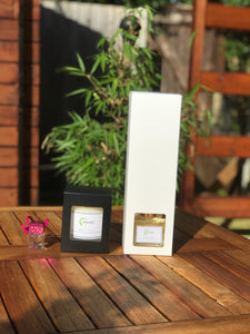 Candle, Home Diffuser & Car Diffuser Bundle
