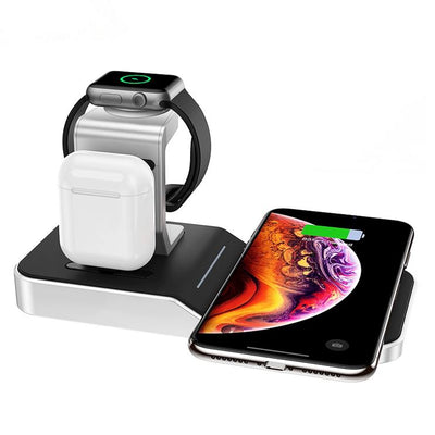Chargeur Induction Aluminium Luxe iPhone