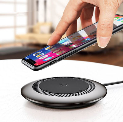 Chargeur Induction Gris Samsung