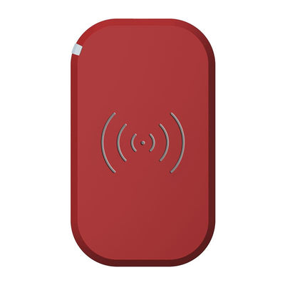 Chargeur Induction Micro USB Rouge