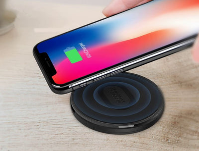Chargeur Induction Noir iPhone