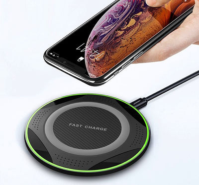 Chargeur Induction Vert iPhone