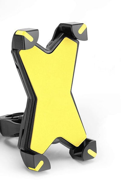 Support Pour Telephone Portable Velo Jaune