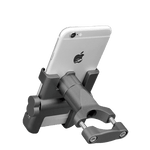 Support Telephone Portable Moto Argent