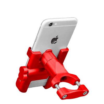 Support Telephone Portable Moto Rouge