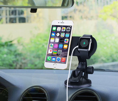Support Telephone Voiture Double Aimant iPhone