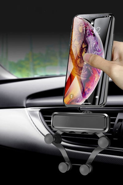 Support Telephone Voiture En Silicone iPhone