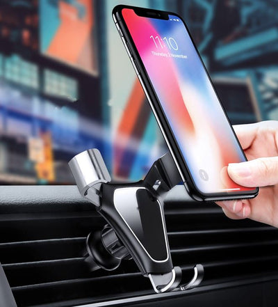 Support Telephone Voiture Triple Attache iPhone