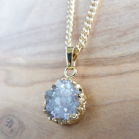 Druzy necklace Necklace