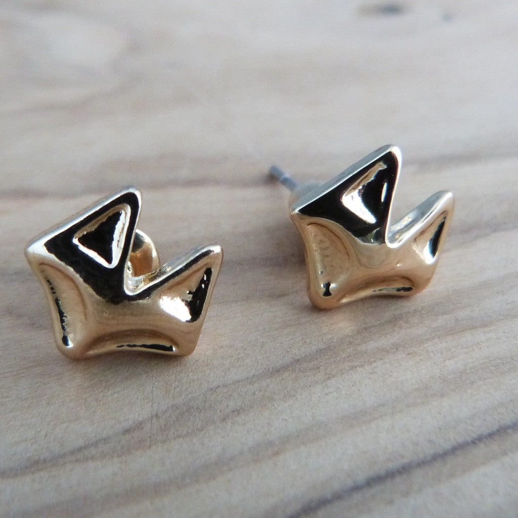 Cute fox stud earrings Earrings