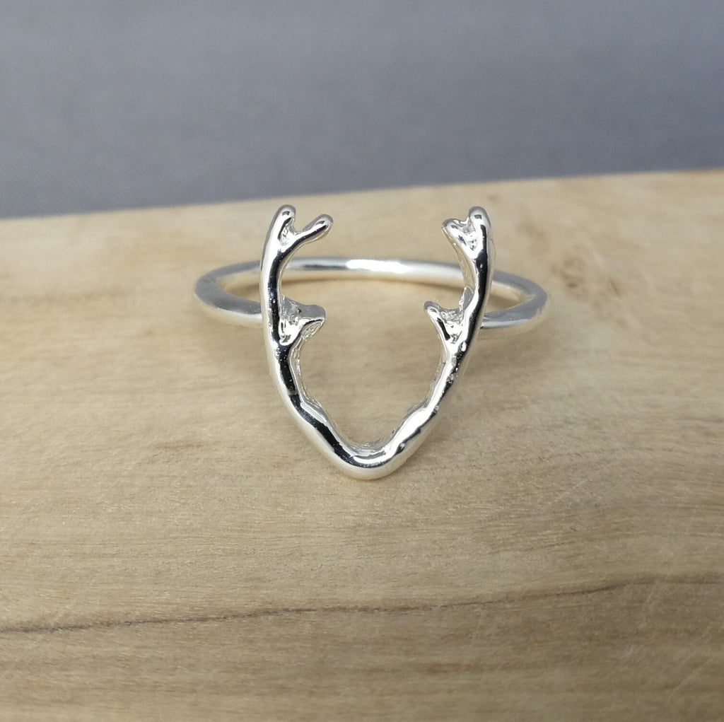 Silver Stag Ring