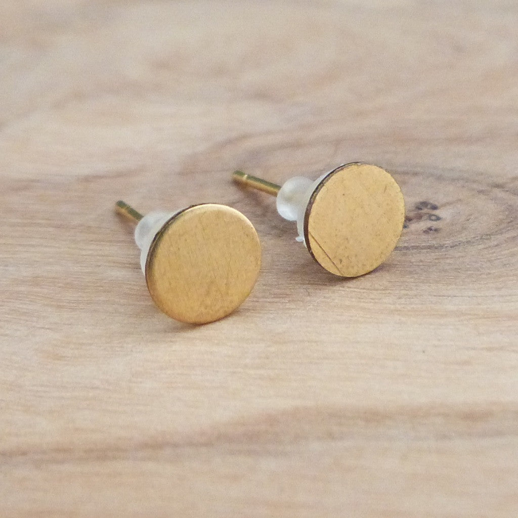 Circle stud earrings Earrings