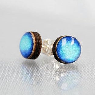 Sapphire stud earrings Earrings