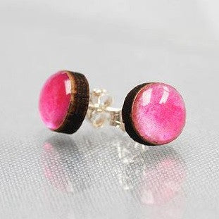Baby pink stud earrings Earrings