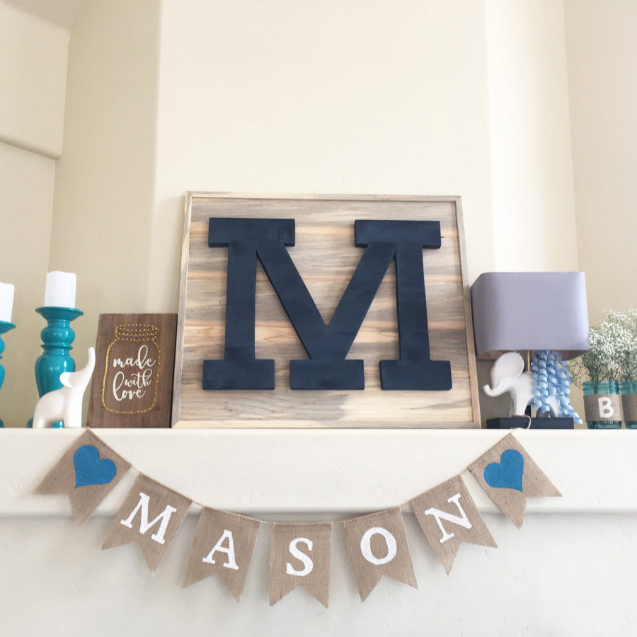 'M' is for Mason - Baby Shower