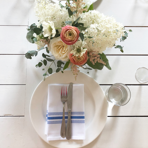 Tiny Boxwoods Austin baby shower tablescape