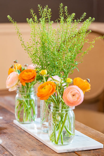 baby shower flowers spring rananculus