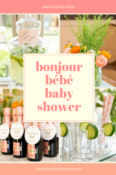 BONJOUR BABY SHOWER IDEAS FOR A GIRL