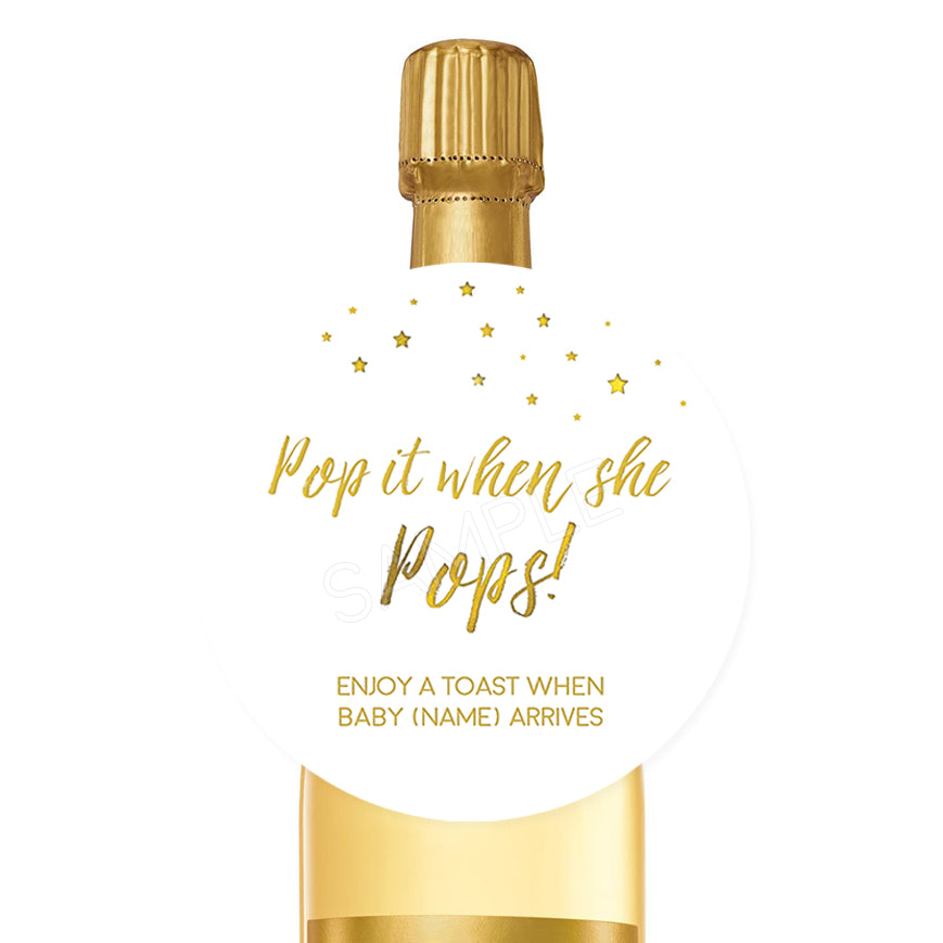 Pops - White and Gold