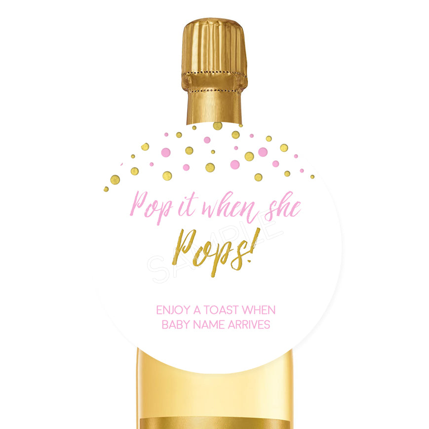 Pops - Pink and Gold
