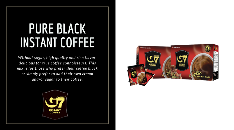 Pure Black Instant Coffee
