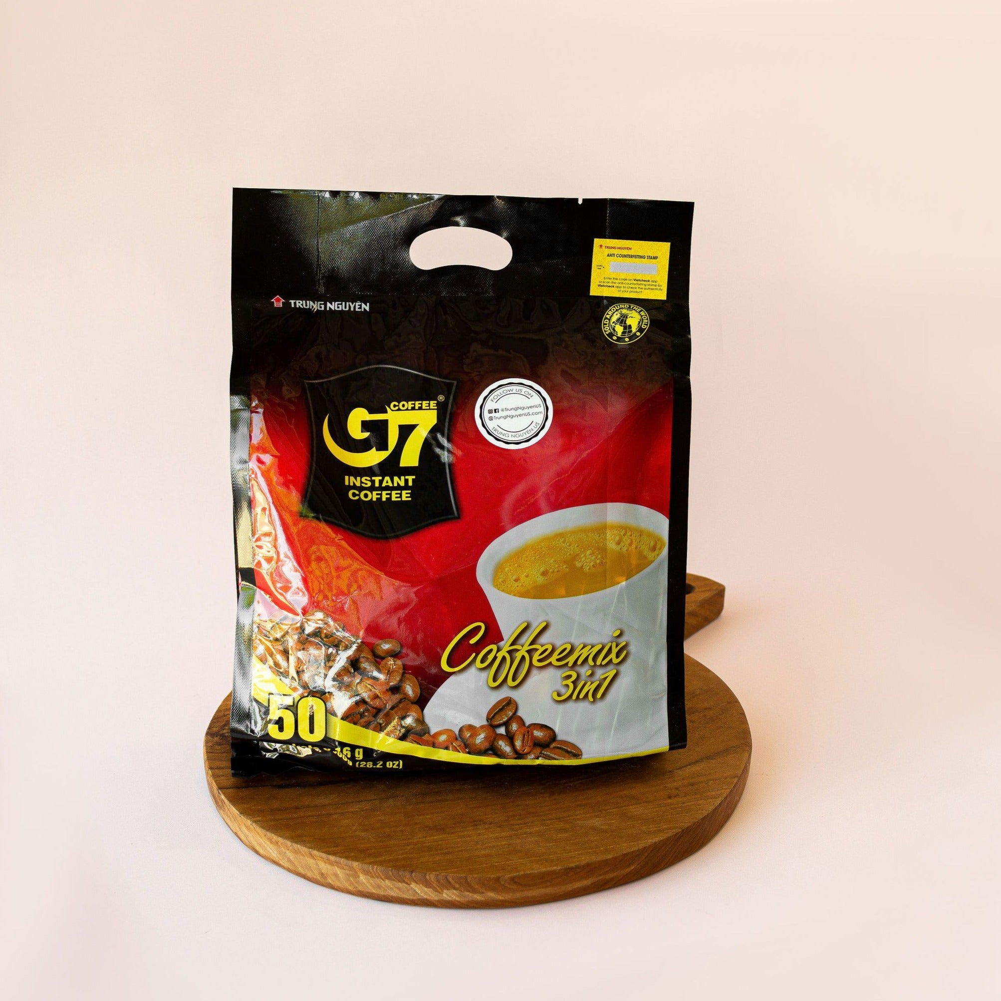 Trung Nguyen Vietnamese coffee G7 3 in 1 Instant Coffee - (Various Sizes)