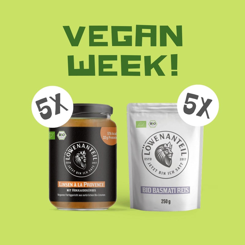 Vegan Week! - Löwenanteil