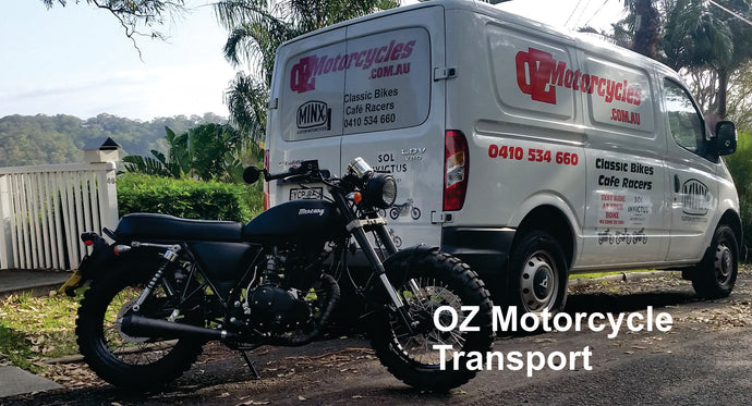 Motorcycle Transport $20 per 10 min