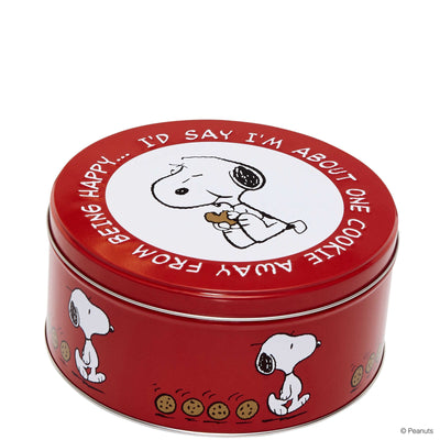 PEANUTS Tin Snoopy/Biscuit round - BUTLERS
