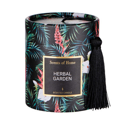 SCENTS OF HOME bougie parfumée Jardin d'herbes aromatiques H 8cm - BUTLERS