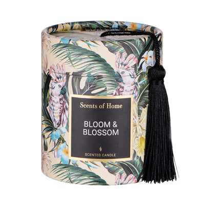 SCENTS OF HOME bougie parfumée Bloom & Blossom H 8cm - BUTLERS