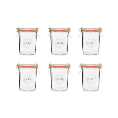 WECK 6x mini-bocal de conservation 160 ml - BUTLERS