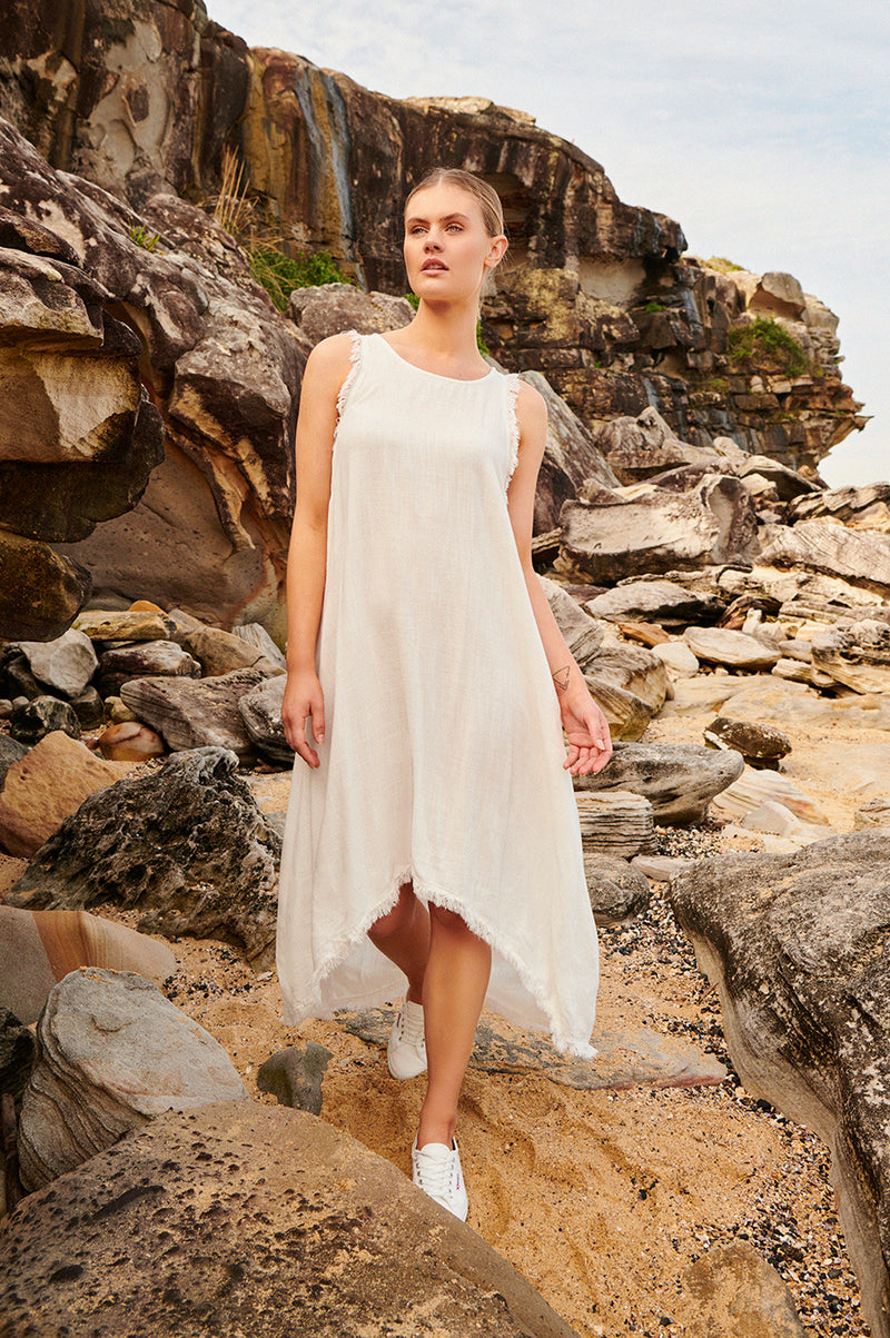 Delilah dress Natural
