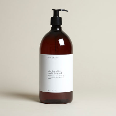 Wild Fig & Saffron Hand & Body Wash REFILL