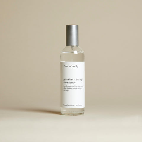 Geranium & Orange Room Spray