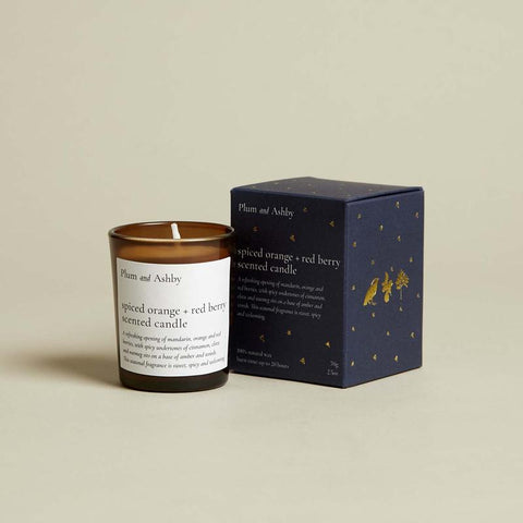 Spiced Orange & Red Berry Votive Candle