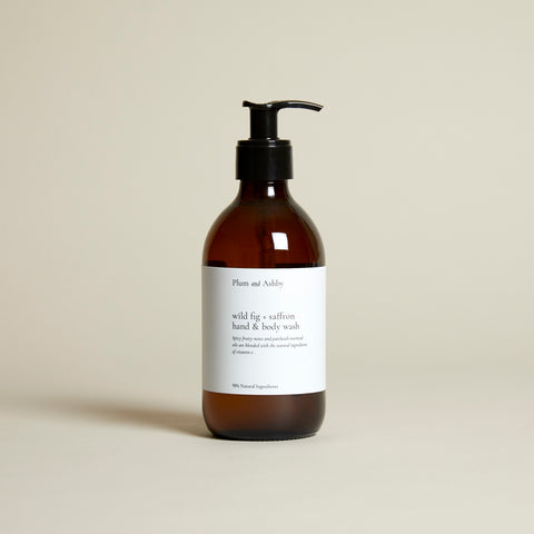 Wild Fig & Saffron Hand & Body Wash